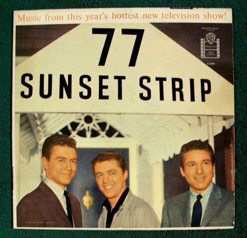 77 SUNSET STRIP 1959 TV Soundtrack LP