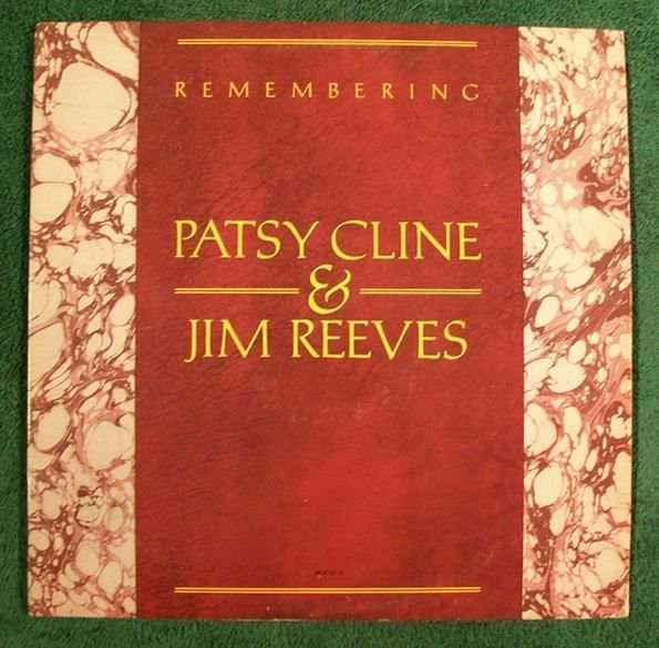 PATSY CLINE & JIM REEVES Remembering 1982 Country LP