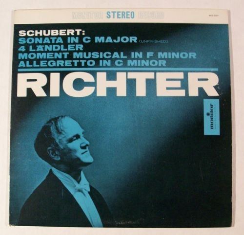 SCHUBERT Sonata In C Major Allegretto In C Minor S Richter LP