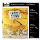 MOZART ~ Violin Concerto No. 4 In D Major / Violin Concerto No. 5 In A Major  LP