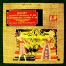 MOZART  ~  Sinfonia Concertante / Concertone for 2 Violins  LP    Bach Collegium