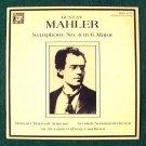 GUSTAV MAHLER  ~  Symphony No. 4 in G Major    A. Gibson / Scottish National  LP