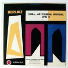 BERLIOZ ~ Funeral and Triumphal Symphony  /  Vienna State Opera Orch.   LP