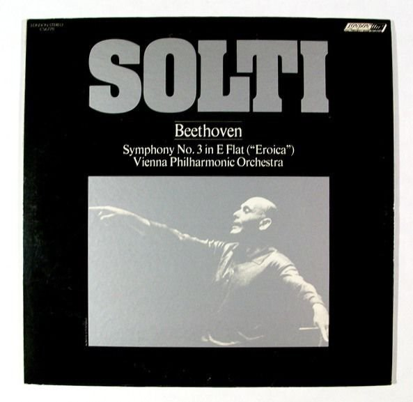 BEETHOVEN Symphony No 3 In E Flat & 34 Eroica& 34 Solti Vienna Phil LP