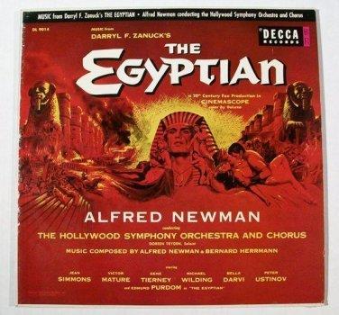 THE EGYPTIAN   ~   1954 Movie Soundtrack LP