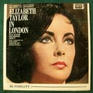 ELIZABETH TAYLOR IN LONDON  ~  1963 Original Television Soundtrack LP