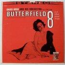 BUTTERFIELD 8   ~   1961 Soundtrack LP     Elizabeth Taylor   David Rose
