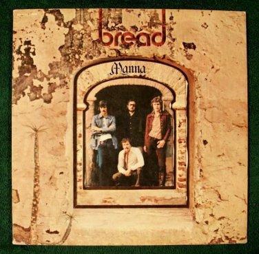 BREAD  ~  Manna         1971 Pop LP