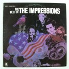 The IMPRESSIONS  ~  The Best of the Impressions       1968 Soul / R&B LP