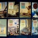 PATRICK O'BRIAN   ~   LOT of ( 8 ) Seafaring Historical Novels    LG Softcover