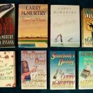 LARRY McMURTRY    ~   LOT of ( 8 ) Hardcover ~ Softcover Mix / VG+ condition