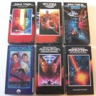 STAR TREK   The First SIX movies   VHS
