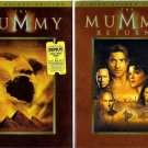 The Mummy and The Mummy Returns  2 DVDs  2-disc Deluxe Editions