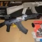 Cm0506B Airsoft Full Size AK-47 with Full Metal Body - Black