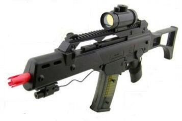 M41GL Spring powered heavy weight Look spring powered airsoft gun rifle,