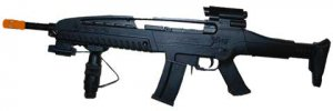 M8B: XM8 Boys Rifle with Laser spring powered airsoft gun rifle,
