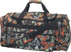 Large Tote Bag with Elusion Camouflage by Michael Collins