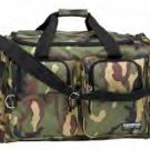"26"" Heavy Duty Camouflage Colored Tote Bag great to store hunting supplies or a dry set of clothes"