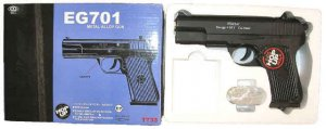 Tokarev - Full Metal Spring airsoft pistol gun Full Metal excact copy of the com-block tokarev