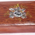 Ukrainian Wooden Lacquered Decorative Trinket Box