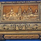 Decorated Hand-Carved Birch Ukrainian Birch Trinket Box