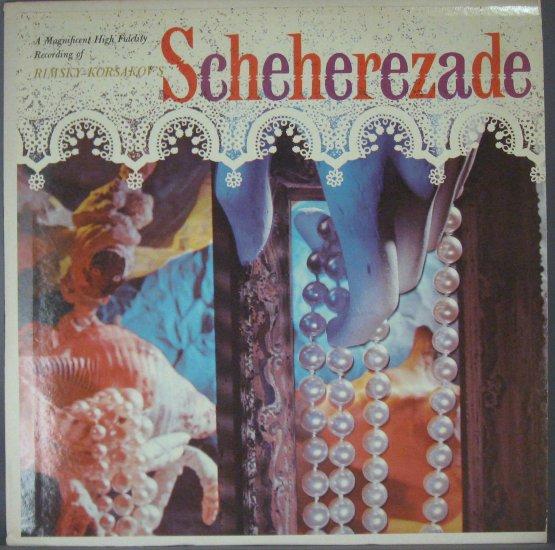 "Rimsky-Korsakov ""Scheherazade"" LP, Wilhelm Rohr c. North German Symphony Orchestra"