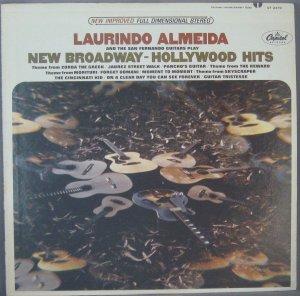 "LAURINDO ALMEIDA &THE SAN FERNANDO GUITARS ""BROADWAY"""
