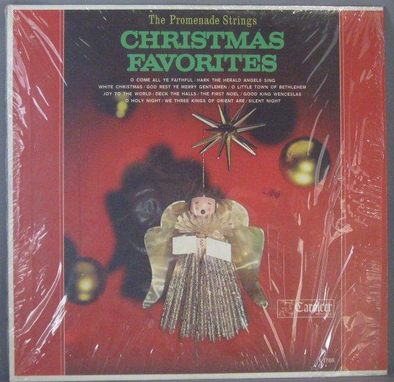 "THE PROMENADE STRINGS ""CHRISTMAS FAVORITES"" LP"