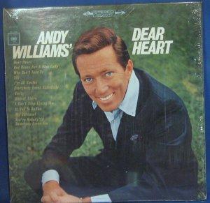 Andy Williams' Dear Heart - Vinyl LP