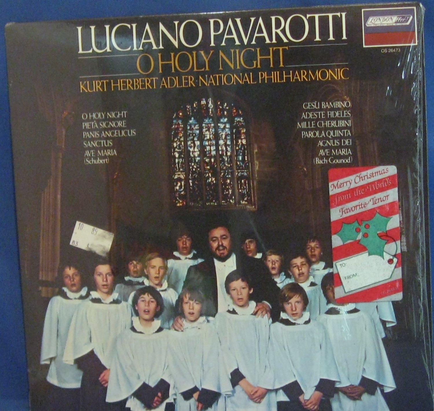 Luciano Pavarotti O Holy Night - Vinyl LP