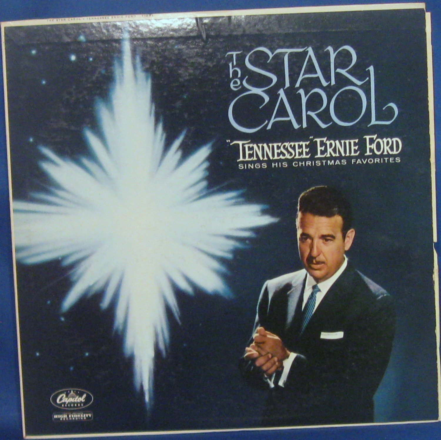 "The Star Carol ""Tennessee"" Ernie Ford Sings His Christmas Favorites - Vinyl LP"