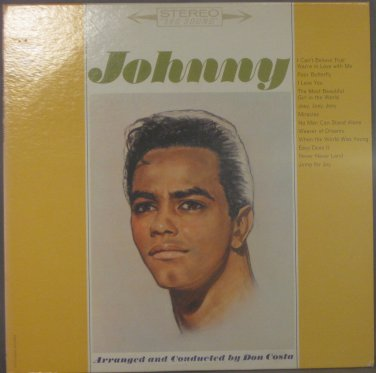 JOHNNY - Johnny Mathis - Vinyl LP