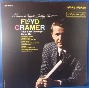 Floyd Cramer Your Last Goodbye Hang On - Vinyl LP