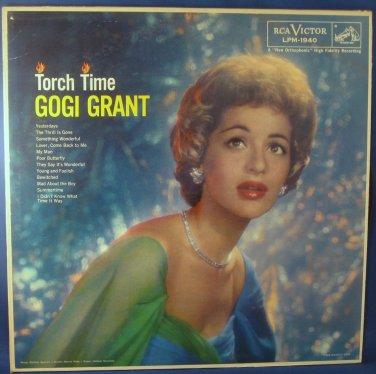 Torch Time GOGI GRANT - Vinyl LP