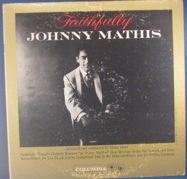 Faithfully - Johnny Mathis - Vinyl LP