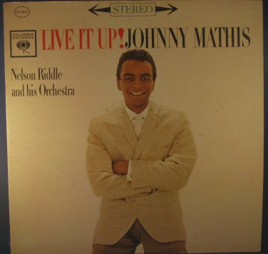 LIVE IT UP! JOHNNY MATHIS - Vinly LP