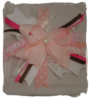 Neopolitan Hair Bow