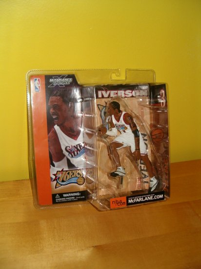 McFarlane Sports Picks: Allen Iverson Figure, MIP