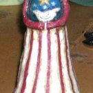 Johanna Parker Statue Lady Liberty Primitive Folk Art July 4th Figural New
