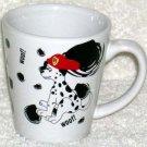 Shonfeld's Mug Dalmatian Fire Department FD Dog Woof! Coffee Tea Stoneware New