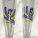 Sahm Germany Beer Glasses Innovative Designer Glassware Pilsner Set 2 New German