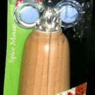 Metaltex Spice Mouse Pepper Salt Mill Ceramic Mechanism Wood Body Blue Ears New