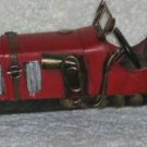 Vintage Reproduction Antique Roadster Automobile Red Decorative Display New