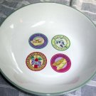 Country French Serving Bowl Pasta Provence Picnic Wine Brie Olives Van Beers New