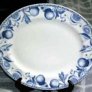 Tudor Platter Blue Fruit Oval Serving Toile Botanical Porcelain Made England New