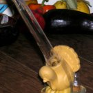 Joie Turkey Shaped Baster Figural Clear Syringe Poultry New