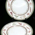 Creative Plates Chef East Indian Food Dessert Salad Porcelain Pictorial 2 New