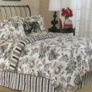 Grammercy Duvet Cover Sheet Shams Bed Pillows Set King Stripe Paisley 9 Pc New