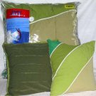 Izzy Surf Comforter Bed Skirt Sham Pillows Set Twin Green Microfiber 5 Pc New