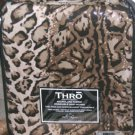 Marlo Lorenz Thro Sheet Set Queen Fitted Leopard Brown Microluxe Ulta Soft 3 Pc